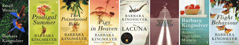 barbara kingsolver book covers Book Revue