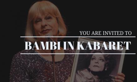 """POPArt """"BAMBI IN KABARET"""""""