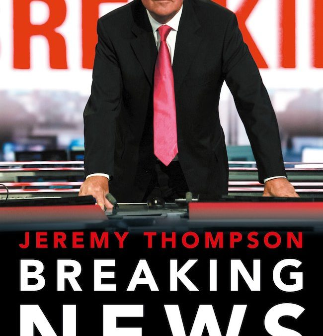Breaking News – Jeremy Thompson
